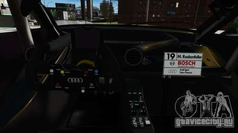 Audi RS5 DTM для GTA 4 вид сбоку