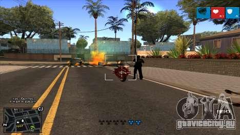 C-HUD Lumia GTA V для GTA San Andreas четвёртый скриншот