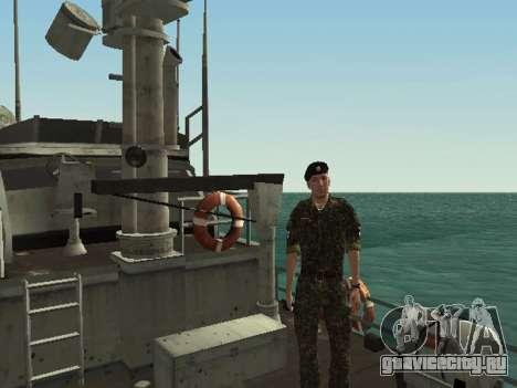 Морская Пехота ВС Украины для GTA San Andreas восьмой скриншот