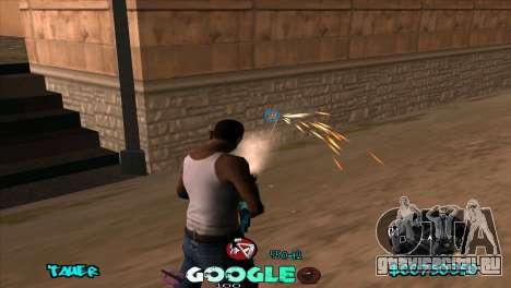 C-HUD Google для GTA San Andreas третий скриншот