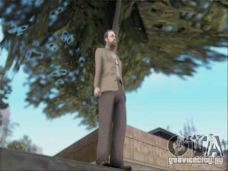 Dave Norton из GTA V для GTA San Andreas третий скриншот