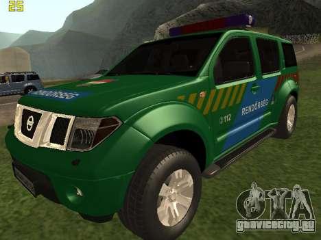 Nissan Pathfinder Police для GTA San Andreas