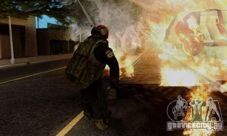 Kopassus Skin 1 для GTA San Andreas седьмой скриншот