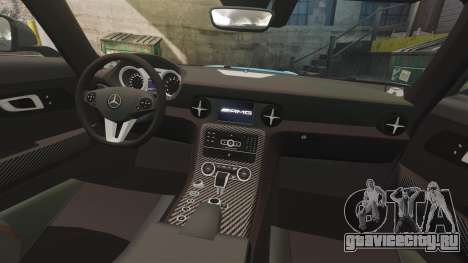 Mercedes-Benz SLS 2014 AMG Black Series Area 27 для GTA 4 вид сбоку
