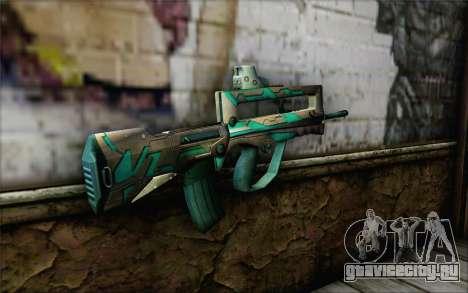 Famas G2 Commando Blaze для GTA San Andreas второй скриншот