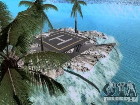 Новый остров v1.0 для GTA San Andreas седьмой скриншот