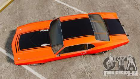 Declasse SabreGT new wheels для GTA 4 вид справа