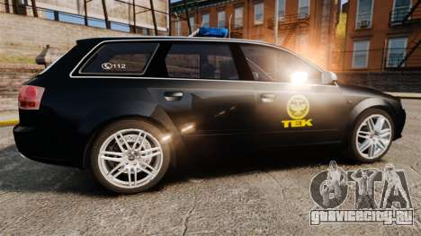 Audi S4 Avant TEK [ELS] для GTA 4 вид слева