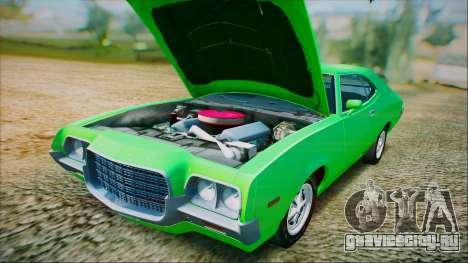 Ford Gran Torino 1972 Года для GTA San Andreas вид сбоку