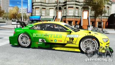 Audi RS5 DTM для GTA 4 вид слева