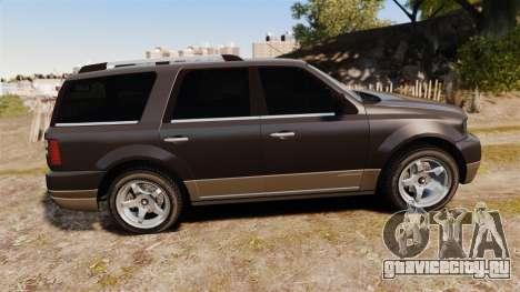 Dundreary Landstalker new wheels для GTA 4 вид слева
