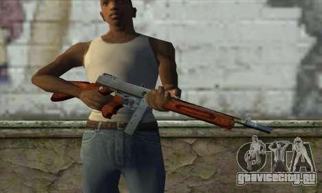 Thompson M1 для GTA San Andreas третий скриншот