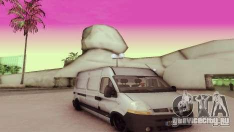 Renault Master для GTA San Andreas