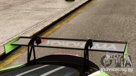 Jaguar XKR GT для GTA 4 вид сзади