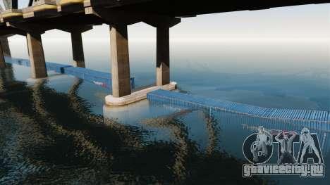 Дорога под мостом для GTA 4 четвёртый скриншот