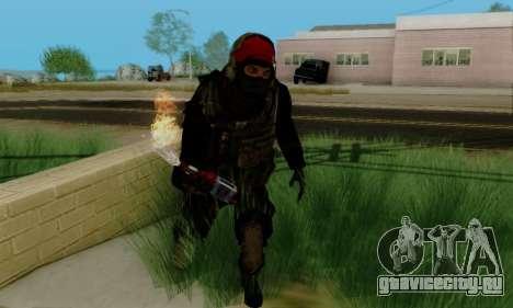 Kopassus Skin 1 для GTA San Andreas пятый скриншот
