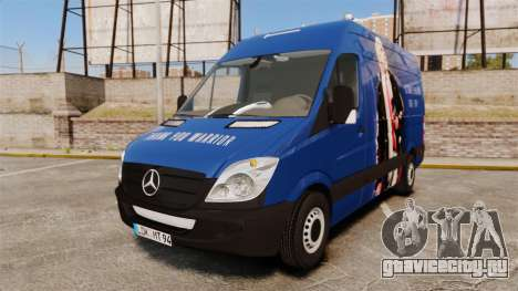 Mercedes-Benz Sprinter 2011 WWE Ultimate Warrior для GTA 4