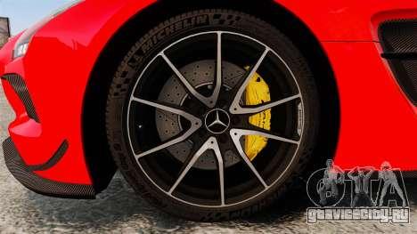 Mercedes-Benz SLS 2014 AMG UAE Theme для GTA 4 вид сзади