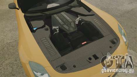 Mercedes-Benz SLS 2014 AMG Performance Studio для GTA 4 вид изнутри