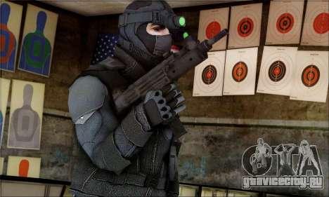 Alfa Team Weapon Pack для GTA San Andreas второй скриншот