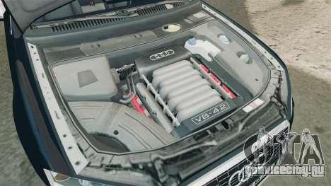 Audi S4 Avant TEK [ELS] для GTA 4 вид изнутри
