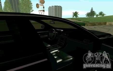 Maybach 57 TT Black Revel для GTA San Andreas вид справа