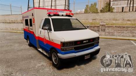 Brute MRSA Paramedic для GTA 4