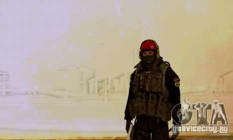 Kopassus Skin 1 для GTA San Andreas третий скриншот