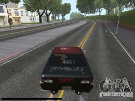 Винилы для Sultan для GTA San Andreas вид справа