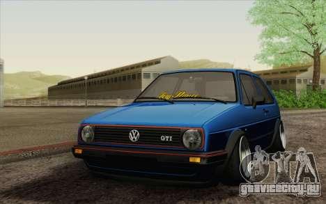 Volkswagen Golf MK2 LowStance для GTA San Andreas