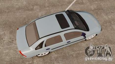 Chevrolet Corsa Premium Sedan для GTA 4 вид справа