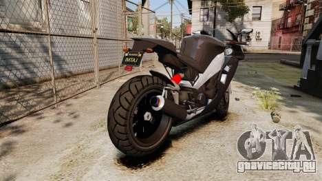 GTA V Nagasaki Carbon RS для GTA 4 вид справа