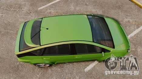 Karin Dilettante new wheels для GTA 4 вид справа