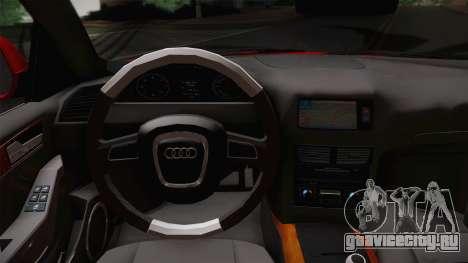 Audi Q5 2012 для GTA San Andreas вид справа
