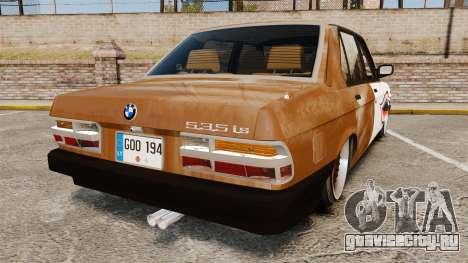 BMW 535is E28 Sharkie для GTA 4 вид сзади слева