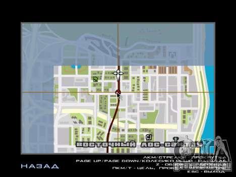 AutoDriver для GTA San Andreas второй скриншот