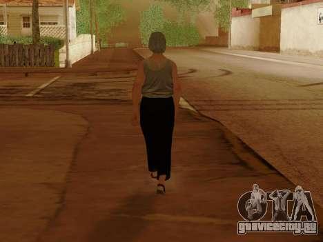 Пожилая женщина для GTA San Andreas восьмой скриншот