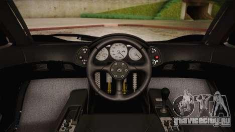 McLaren F1 Police Edition для GTA San Andreas вид сзади