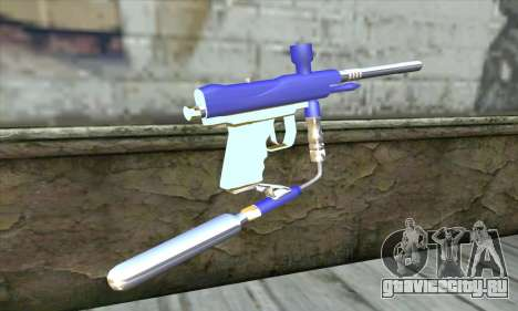 Paintball Gun для GTA San Andreas второй скриншот
