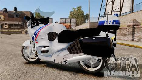 BMW R1150RT Police nationale [ELS] для GTA 4 вид слева