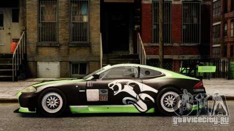 Jaguar XKR GT для GTA 4 вид слева