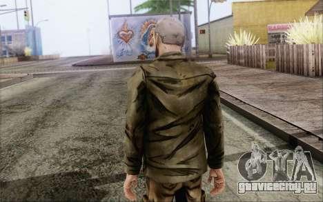 Pete from Walking Dead для GTA San Andreas второй скриншот