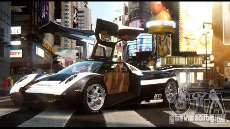 Pagani Huayra Police v1.1 для GTA 4