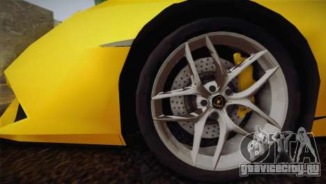 Lamborghini Huracane LP 610-4 V2.0 для GTA San Andreas вид слева