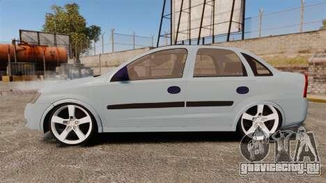 Chevrolet Corsa Premium Sedan для GTA 4 вид слева