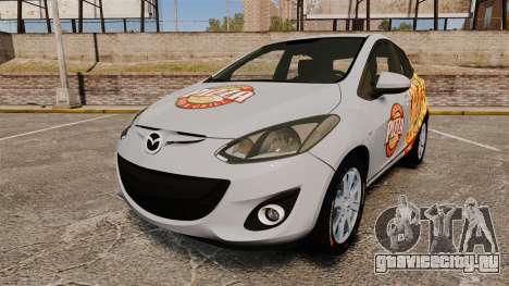 Mazda 2 Pizza Delivery 2011 для GTA 4