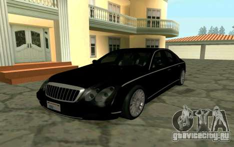 Maybach 57 TT Black Revel для GTA San Andreas