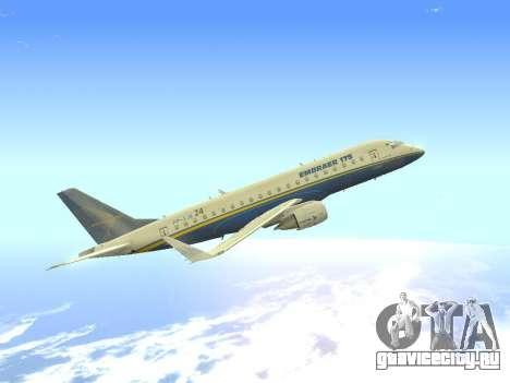 Embraer 175 HOUSE для GTA San Andreas вид изнутри