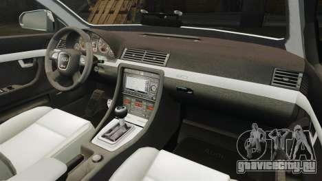 Audi S4 Avant TEK [ELS] для GTA 4 вид сбоку
