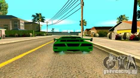 Новая Turismo для GTA San Andreas вид сзади слева